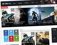 SevenMag - Blog/Magzine/Games/News Wordpress Theme