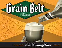 Grain Belt Nordeast Promotional Poster