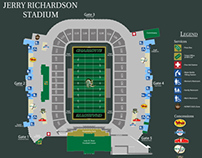 Jerry Richardson Stadium Wayfinding