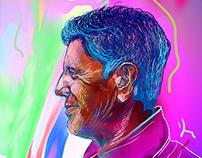 Anthony Bourdain (Portrait)