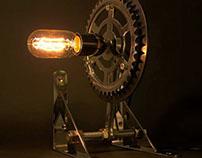 Gear table lamp