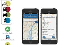 Multi Modal Transportation App