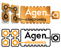 Agen Electronics Logo Concept