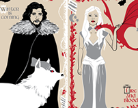 A Song of Ice and Fire - Fine Art Print