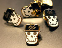 SF Skully Bagger Pin