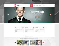 Booard - Corporate PSD Template