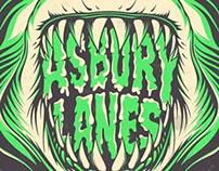 Asbury Lanes Gig Poster