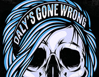 Daly's Gone Wrong April Gig Poster