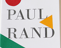 Monograph about the designer Paul Rand