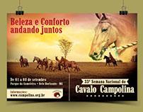 Campanha: 33ª Semana Nacional do Cavalo Campolina