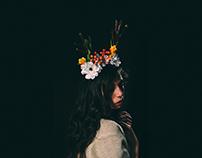 CORONA DE FLORES/ Fotografía