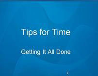 Time Saving Tips for the Online Educator