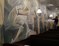 Chops Restaurant Mural Philadelphia