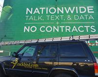 Cricket Outdoor Advertising Mural