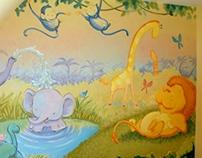 Baby Jungle Nursery