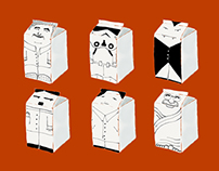 Milkboxes drawings | Personal project