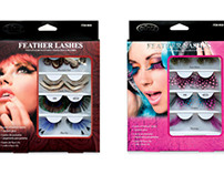 Feather Lashes Packaging
