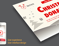 Christmas Donation UI Design