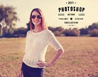 200+ Photoshop Actions – Premium Photo Effects [2014]