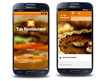 Restaurant mobile UI