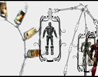 ILM 2008 VFX Reel - title graphics
