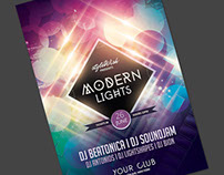 Modern Lights Flyer