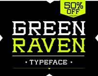 GREEN RAVEN™ Typeface