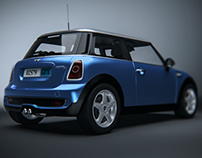 Mini cooper in Vred