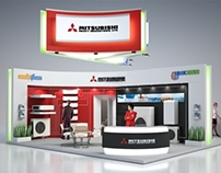 Сlimatic system exhibition stand