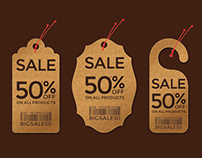 Price Tags - Fully Customizable PSD Set of 21