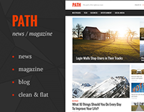 Path — News&Magazine Template