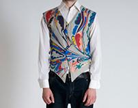Golden design- tail vest for Mika