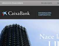 CaixaBank website redesign