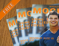 Magazine Cover - Mockup