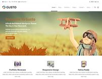 Gusto - Vanguard Theme