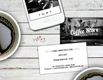 Coffee Store Branding