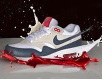 Nike trainer retouching