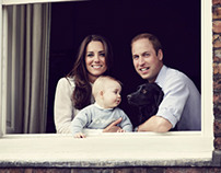 Royal Family Portrait by Jason Bell
