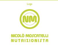 Logo Nutritionist Nicolò Moscatelli