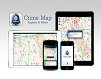 Crime Map England & Wales