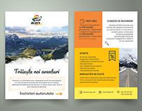 Brochure design | Van rental