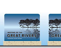 Signage proposal for the Great River Road