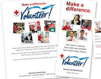 American Red Cross Volunteer Recruitment Materials