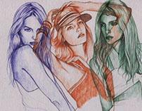 Lily Donaldson--Ballpoint pen