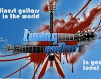 Twang Guitars Banner Adds