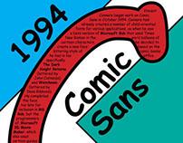 Comic Sans Typography Bio