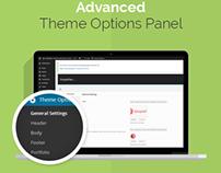 Flat One Page WordPress Theme