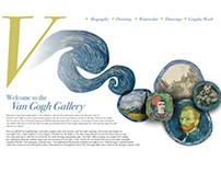 Vincent Van Gogh Website