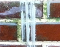 Winter 2014 - Scenic Painting - Wood and Brick