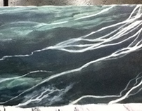 Winter 2014- Scenic Painting- Stone and Marble